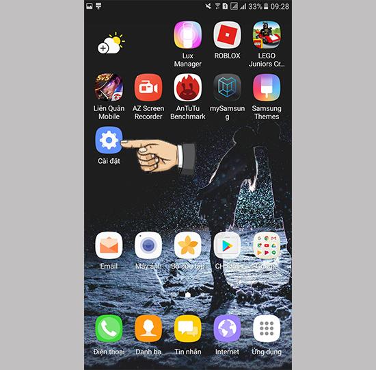 Kiểm tra thông tin imei máy Samsung Galaxy A7 (2017