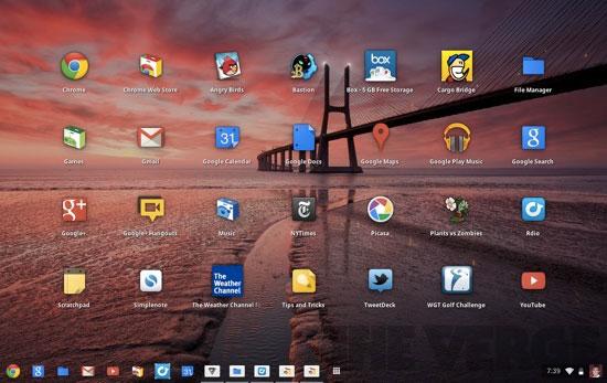 Google Chrome OS là gì?