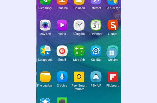 Hướng dẫn bật nút home ảo trên Samsung S7, S7 Edge
