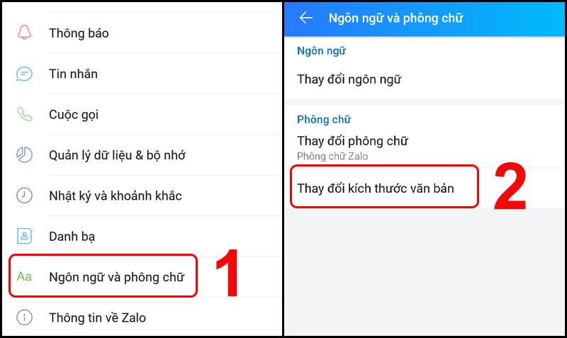 [Video] Cách tăng cỡ chữ, cài font chữ mới trong Zalo trên điện thoại
