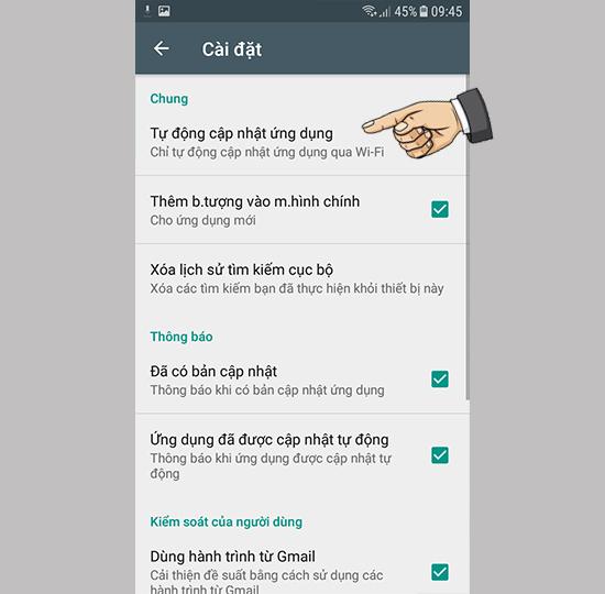 Khắc phục lỗi bộ nhớ đầy trên Samsung Galaxy J2 Prime