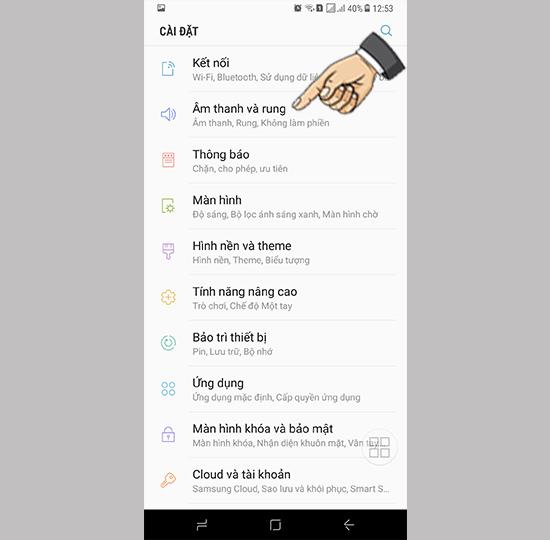 Kích hoạt nâng cấp UHQ trên Samsung Galaxy S8