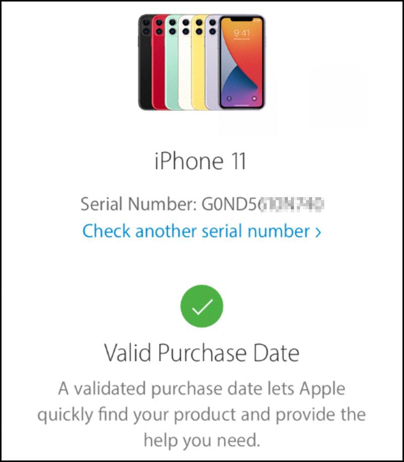 kiểm tra iPhone