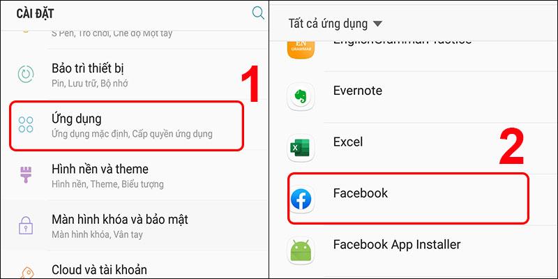 Chọn ứng dụng muốn hiện thông báo trên màn hình khóa Android