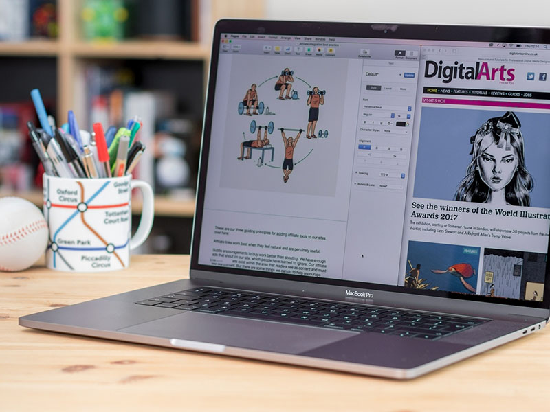 Laptop cho designer