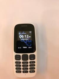 Nokia 105 SS 2017 White