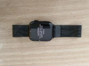 Apple Watch S5 LTE, 44mm Space Black Stainless Steel Case with Space Black Milanese Loop (MWWL2VN/A)