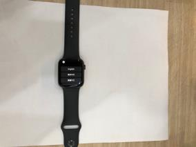 Apple Watch S5 LTE, 44mm Space Grey Aluminium Case with Black Sport Band (MWWE2VN/A)