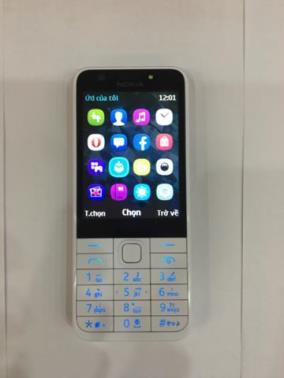 Nokia 230 Silver không thẻ