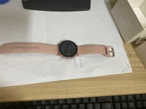 Samsung Galaxy Watch Active 2, nhôm 40mm dây cao su vàng hồng R830