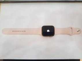 Apple Watch S5, 44mm Gold case and Pink sport band (MWVE2VN/A)