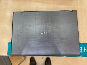 "Acer Spin3 SP314 51 51LE i5 8250U/4GB/256GB/14""F/Touch/Win10/(NX.GZRSV.002)/Xám"