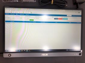 """Asus ZenScreen GO MB16AHP 15.6""""F IPS /5ms/60Hz/250cd/m2/Cáp HDMI/bao da/viết/adapter/Đen"""