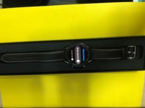 Samsung Galaxy Watch 3 R840, 45mm thép bạc dây da đen