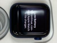 Apple Watch S6 GPS, 40mm Blue Aluminium Case with Deep Navy Sport Band - Regular (MG143VN/A)