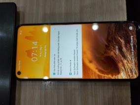 Realme 7 8-128GB Xanh Sương Lam