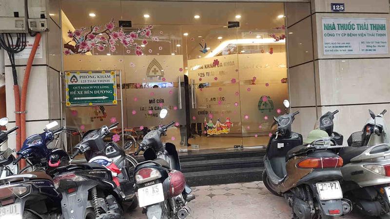 Phòng khám 125 Thái Thịnh