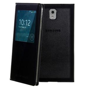 Ốp lưng - Flipcover Ốp lưng nắp gập S-view Samsung Galaxy Note 3 Đen