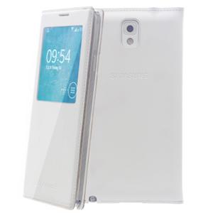 Ốp lưng - Flipcover Ốp lưng nắp gập S-view Samsung Galaxy Note 3 Trắng