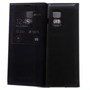 Ốp lưng - Flipcover Ốp lưng nắp gập S-view Galaxy S5 chính hãng Đen