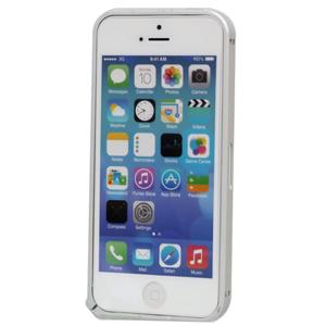 Ốp lưng - Flipcover điện thoại Ốp lưng viền kim loại IP5 Devia Bạc