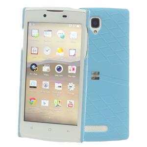 Ốp lưng - Flipcover điện thoại Ốp lưng da Oppo Neo 3 Zenus Xanh Dương