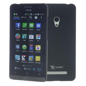 Ốp lưng - Flipcover điện thoại Ốp lưng nhựa nhám ZenFone 5 X-Mobile Đen