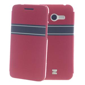 Ốp lưng - Flipcover điện thoại Ốp lưng nắp gập Zenfone 4 Zenus Đỏ