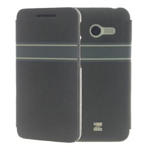 Ốp lưng - Flipcover điện thoại Ốp lưng nắp gập Zenfone 4 Zenus Xám