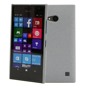 Ốp lưng - Flipcover điện thoại Ốp lưng nhựa nhám Lumia 730 X-Mobile Xám