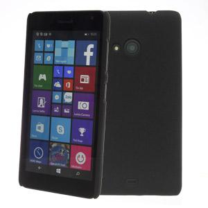 Ốp lưng - Flipcover điện thoại Ốp lưng nhựa nhám Lumia 535 X-Mobile Đen