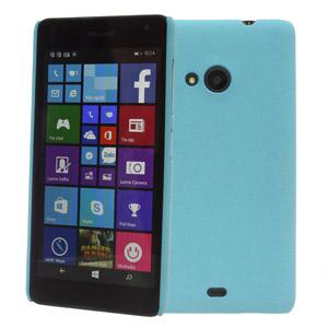 Ốp lưng - Flipcover điện thoại Ốp lưng nhựa nhám Lumia 535 X-Mobile Xanh Dương