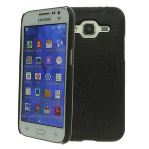 Ốp lưng - Flipcover điện thoại Ốp lưng Galaxy Core Prime Coreka Đen