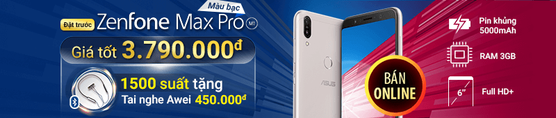 2019 - FE - Preoder Asus Max Pro M1