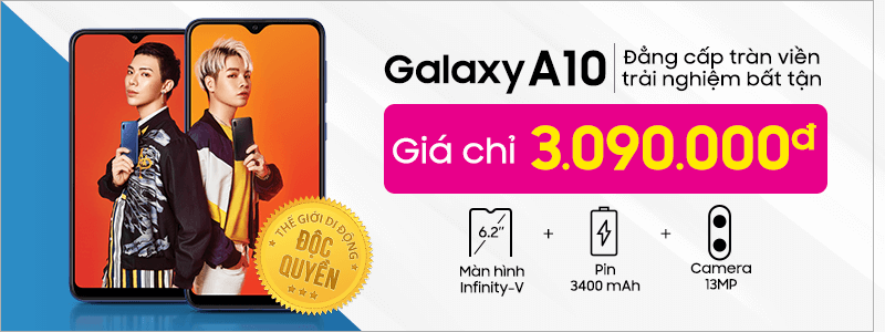 2019 - AP - Galaxy A10 - Normal Sale