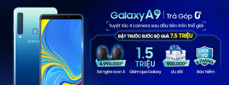 2018 - NO - Galaxy A9 Pre-order